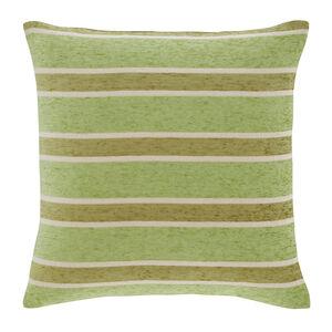 Sarah Stripe Green Cushion 45cm x 45cm