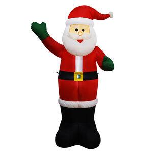Inflatable Light up Santa - 1.6M