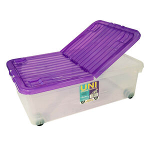Storage Container with Wheels 32L