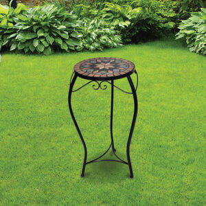 Mosaic Plant Stand Large