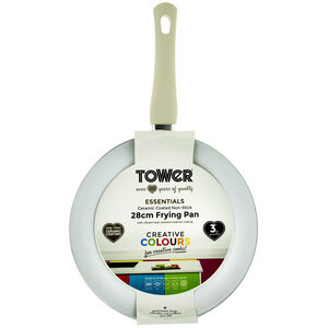 Tower Ceramic Gold Frying Pan 28cm