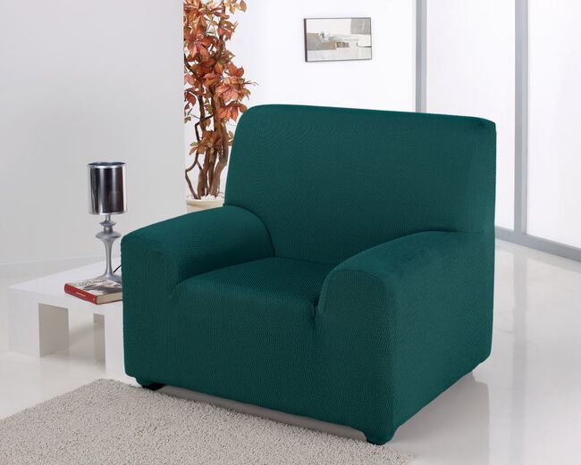 Easystretch Armchair Cover Green
