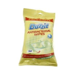 Anti Bacterial Wipes 50 Pack