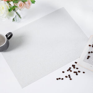Tabby Weave Glitz Placemat