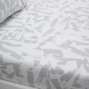ADAM GREY Single Fitted Sheet