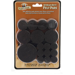 Heavy Duty Brown Felt Pads