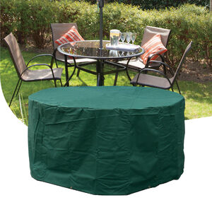 4 Seater Round Furniture Set Cover 380GSM