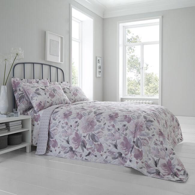 Rosemary Bedspread 200x220cm - Mauve