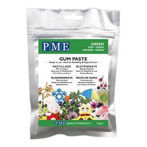 PME Green Gum Paste 200g