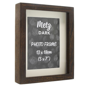 Metz Dark Photo Frame 5x7""