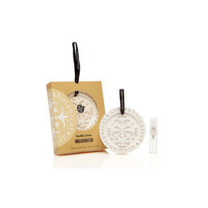 Vanila Creme Fragrant Ceramic Disc