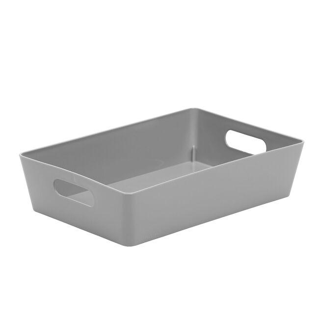 Studio 4.01 Rectangular Basket Cool Grey