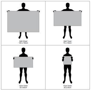 450GSM ZERO TWIST CHAMBRAY 30*30 Face Towel 2pk