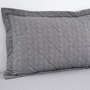 Dave Charcoal Pillowshams 50cm x 75cm