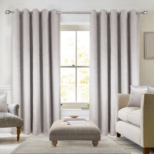 BLACKOUT & THERMAL LUREX SILVER 66x54 Curtain