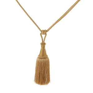 Elegance Large Rope Gold Tieback