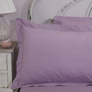 Flourish Heather Oxford Pillowcase Pair