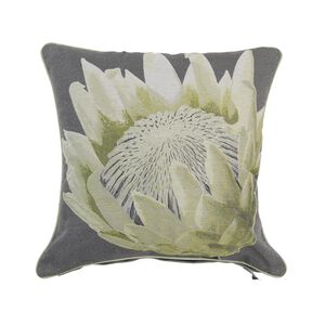 Alexa Flower Cushion Cover 45x45cm - Green