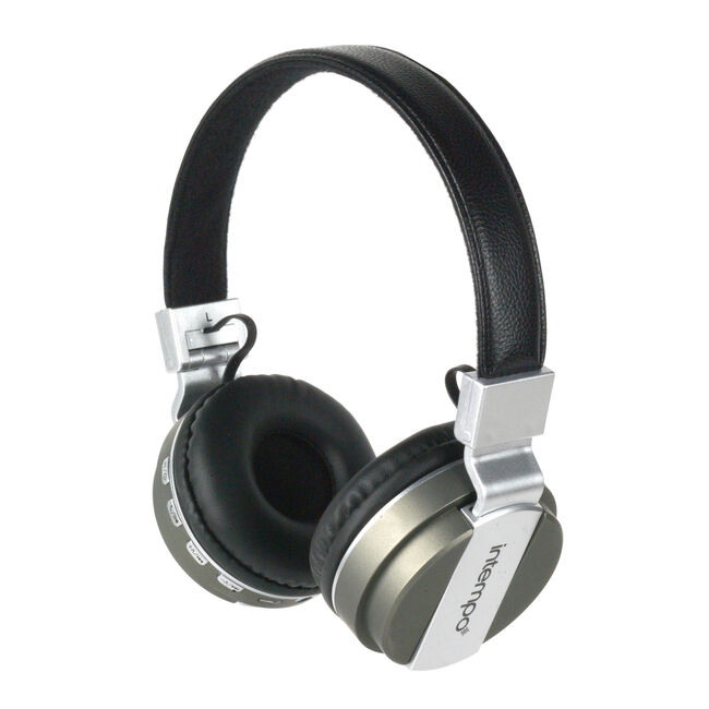 Intempo Green/Black Bluetooth Headphones