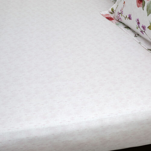 MAGGIE PINK Single Fitted Sheet