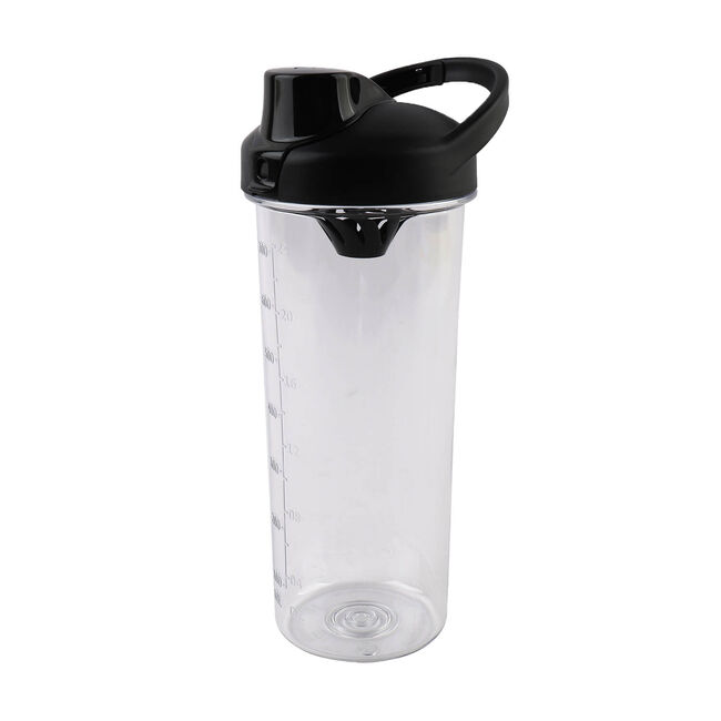 BodyGo Tritan Protein Shaker Bottle 700ml - Black