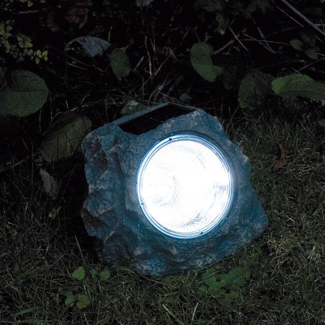 Outdoor Solar Light Garden Rock