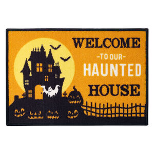 Haunted House Doormat 40x60cm