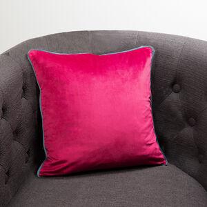Naomi Cushion 45x45cm - Raspberry