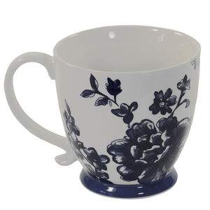 Kensington Perla Indigo Footed Mug