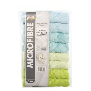 Microfibre Terry Cloths 8 Pack