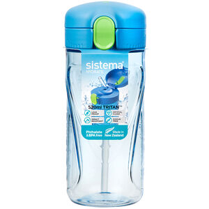 Sistema Tritan 520ml Quick Flip Bottle