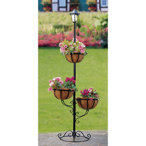 3 Tier Solar Powered Flower Planter