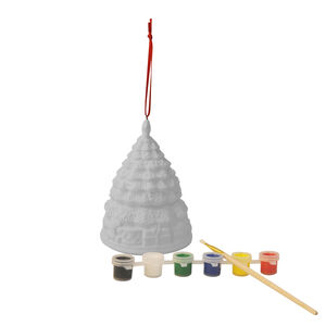 Paint Your Own Christmas Tree Ornament