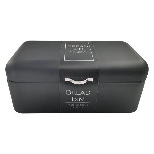Bread Bin - Matt Black