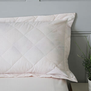 Rose Dawn Blush Pillowshams 50cm x 75cm