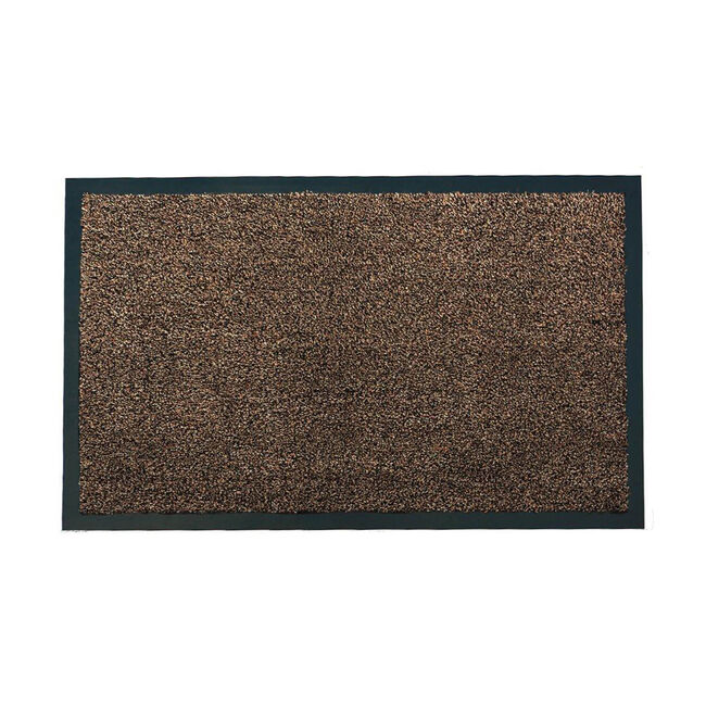 Chestnut Grove Washable Brown Door Mat 60x90cm