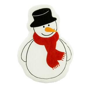Snowman Cushion 38cm
