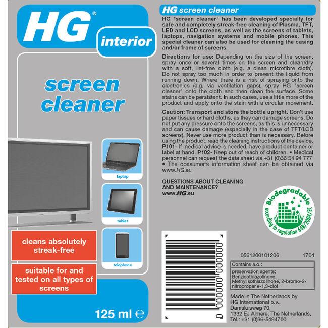 HG Screen Cleaner 125ml