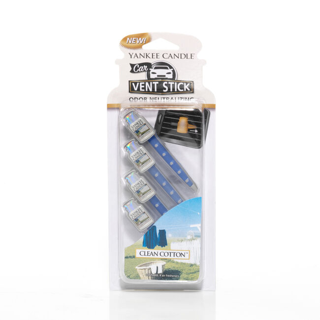 Yankee Candle Clean Cotton Vent Sticks
