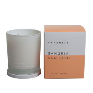 Serenity 10Oz Sangria Sunshine Scented Candle