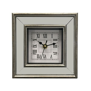 Arden Square Mirror Clock