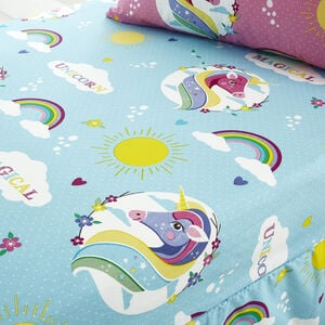 UNICORN MAGIC Junior Bed Fitted Sheet