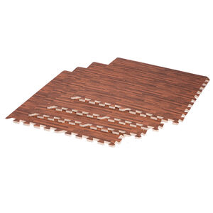 Body Go Wooden Effect Inter-locking Mat