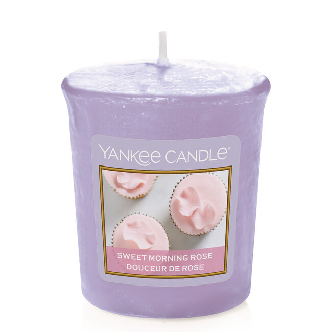 Yankee Sweet Morning Rose Votive