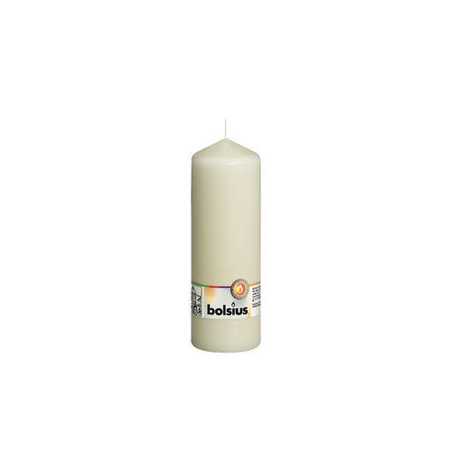 Bolsius Ivory Pillar Candle 20cm x 7cm