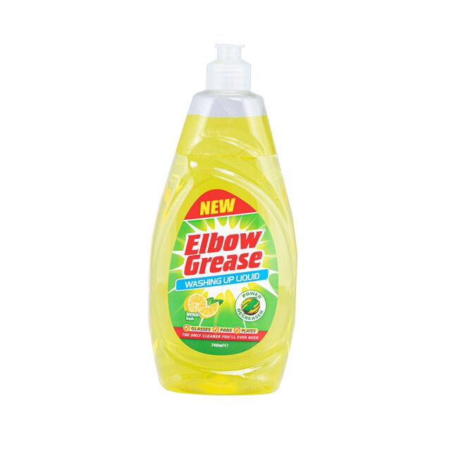 Elbow Grease Washing Up Liquid 740ml