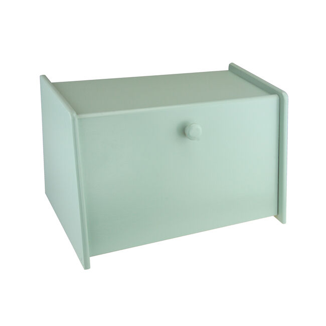 Apollo Rubberwood Drop Front Bread Bin