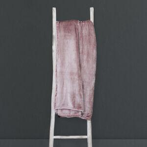 Ruane Plush Velvet Throw 150x200cm - Mauve