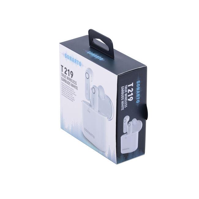 Sonarto T219 True Wireless Earbuds - White
