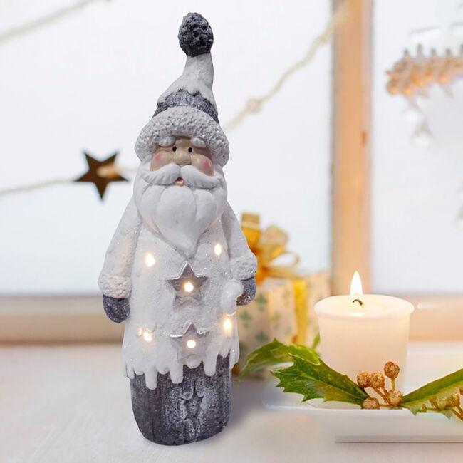 LED Santa decoration